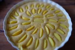 Apfelspalten einlegen
