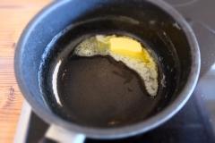 Butter zerlaufen lassen