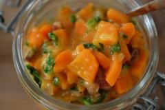 fertiges Karotten Gemüse