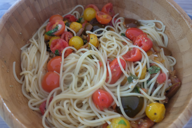 Fertige Spaghetti